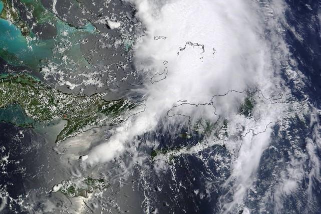 La tempête tropicale Cristobal, qui a déversé des pluies diluviennes sur les... (Photo REUTERS)