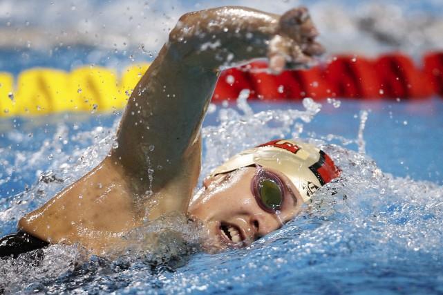 La nageuse Léonie Pomerleau délaissera son sport afin... (Courtoisie)