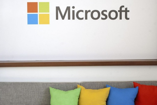 Avec Windows, Microsoft exerce une écrasante domination sur... (PHOTO Josh Edelson, Archives AFP)