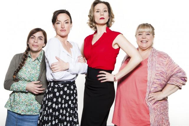Parmi les six femmes complètement désaxées de la... (Photo: fournie par TVA)