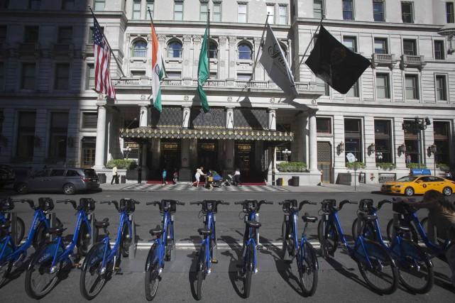 Le Plaza de New York, un hôtel 5... (Photo REUTERS)