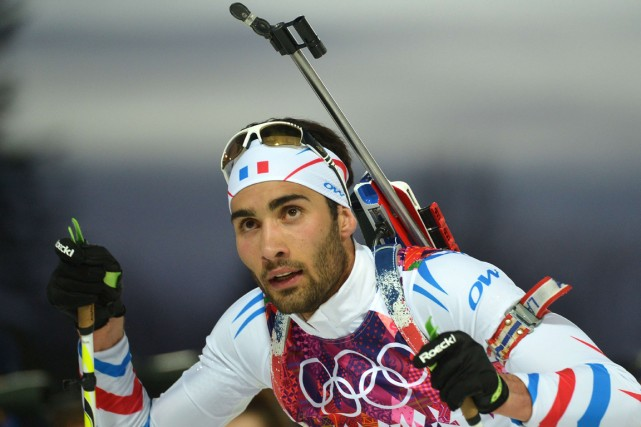 Martin Fourcade... (Photo Alberto Pizzoli, AFP)