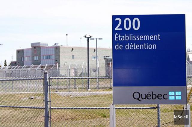 Le Centre de détention de Rimouski... (Photothèque Le Soleil)
