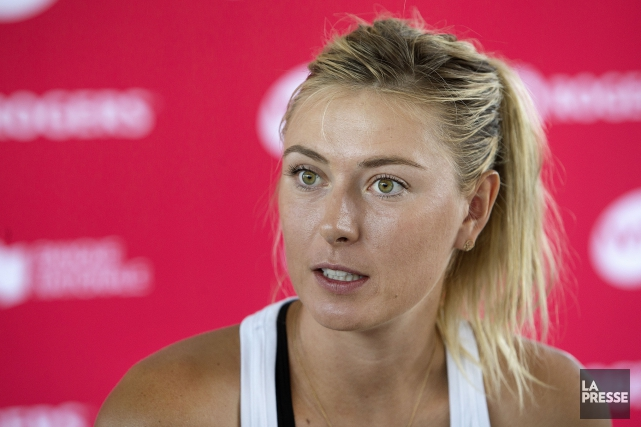 Maria Sharapova... (PHOTO ROBERT SKINNER, ARCHIVES LA PRESSE)