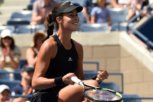 Ana Ivanovic... (Photo Timothy A. Clary, AFP)