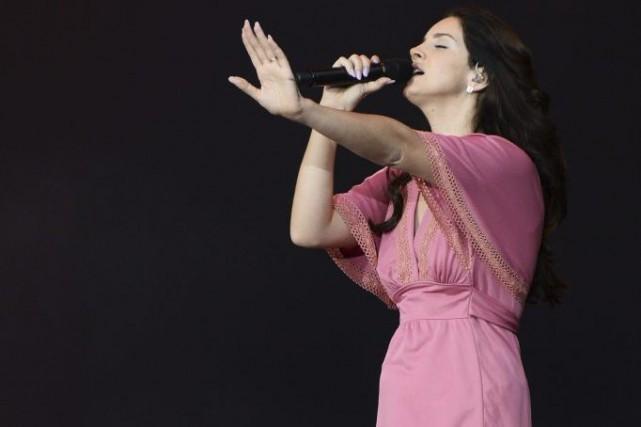 Lana Del Rey au Festival de Rock en... (Photo: AFP)