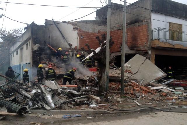 Les causes de l'explosion ne sont pas encore... (Photo MARIO SAYES, AFP)