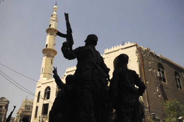 D'autres otages américains ont été détenus par d'autres... (Photo OMAR SANADIKI, Reuters)