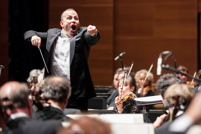 L'interprétation de Yannick Nézet-Séguin est tellement nuancée, tellement... (Credit Quincena Musical- Inigo Ibanez)