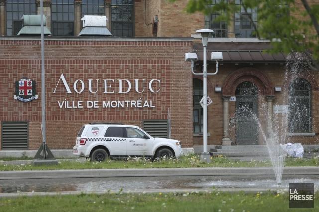 L'usine de traitement des eaux Atwater, à Verdun,... (PHOTO MARTIN CHAMBERLAND, LA PRESSE)