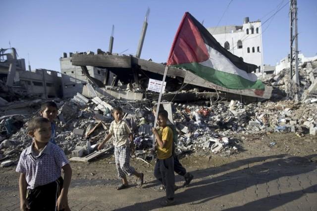 Des millions de Palestiniens et d'Israéliens dans et... (PHOTO MAHMUD HAMS, AGENCE FRANCE-PRESSE)