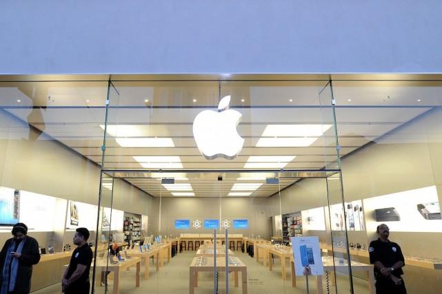 Apple songe à unnouveau modèle de tablette qui... (Photo Noah Berger, Archives Bloomberg)