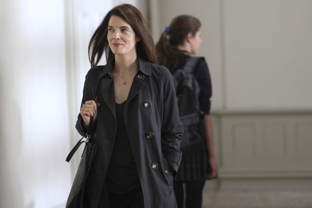 L'héroïne de cette télésérie, Nathalie Lapointe (Macha Grenon),... (Photo: Bertrand Calmeau, fournie par la production)
