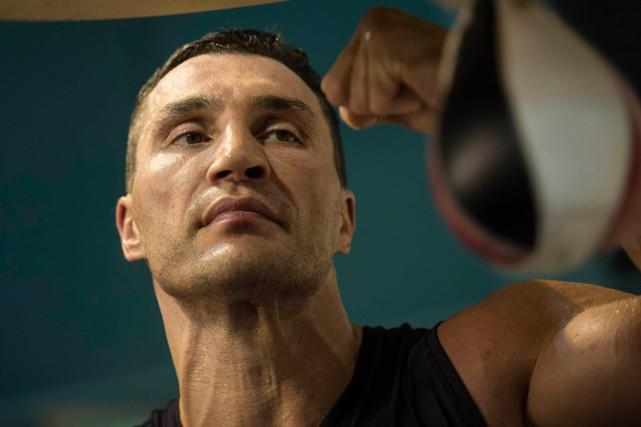 Wladimir Klitschko... (Photo Lukas Barth, Reuters)