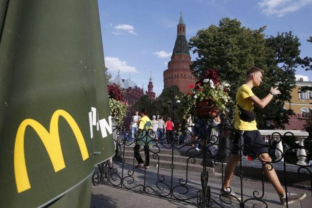Les restaurants visés à Moscou sont hautement symboliques:... (PHOTO MAXIM ZMEYEV, REUTERS)