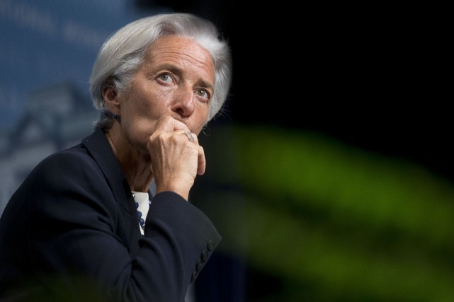 Christine Lagarde... (Photo archives Bloomberg)