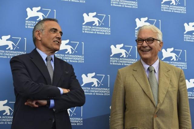 AlbertoBarbera (gauche) a déclaré que «cela arrive malheureusement... (Photo AFP)