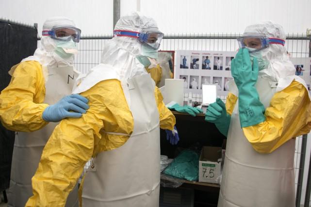 Depuis le début de l'année, le virus a... (Photo Olivier Matthys, AP)