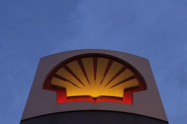 Shell et ses partenaires ont la permission d'explorer... (PHOTO SHAUN CURRY, ARCHIVES AFP)