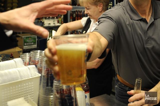 L'Union des tenanciers de bars du Québec devra s'y faire : il est légal de... (Photo Bernard Brault, Archives La Presse)