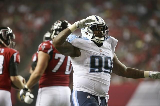 Les Titans du Tennessee ont prolongé mercredi le contrat du joueur de ligne... (Photo Jason Getz, USA Today Sports)