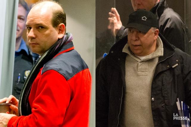 Louis-Pierre Lafortune et Roberto Amato sont deux des... (PHOTOS ALAIN ROBERGE ET MARTIN CHAMBERLAND, LA PRESSE)