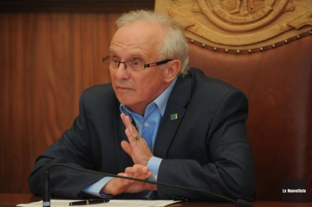 René Goyette, président de la Régie de gestion... (Photo: Émilie O'Connor Le Nouvelliste)
