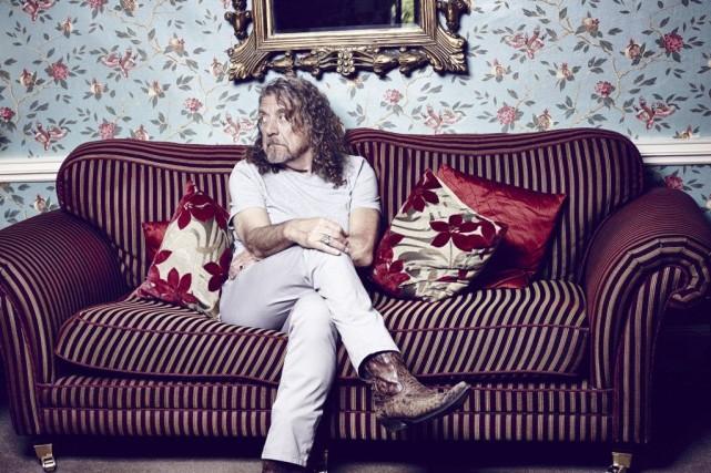 Robert Plant pète le feu. Le chanteur britannique l'a dit et répété aux... (Photo: fournie par Warner)