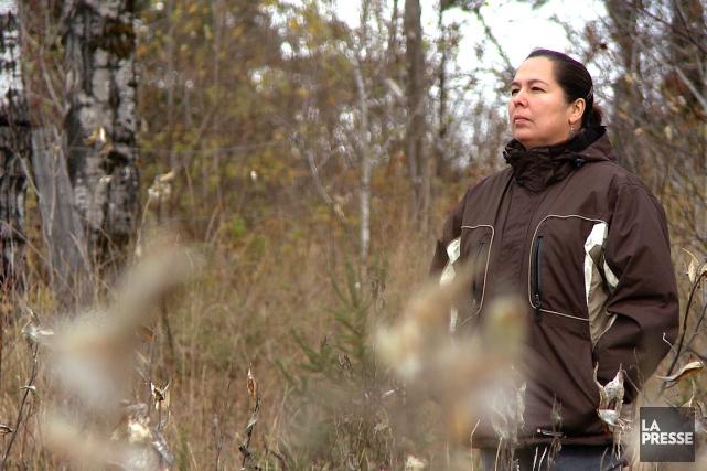 Laurie Odjick a dû insister pendant des mois... (PHOTO TIRÉE D'UNE VIDÉO, MARTIN LEBLANC, LA PRESSE)