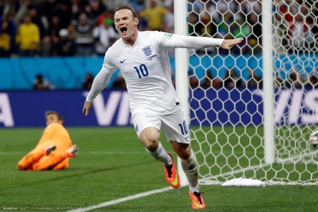 Wayne Rooney... (Photo Kirsty Wigglesworth, AP)