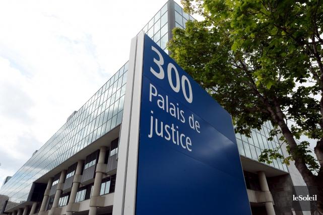 Le palais de justice de Québec... (Le Soleil, Erick Labbé)