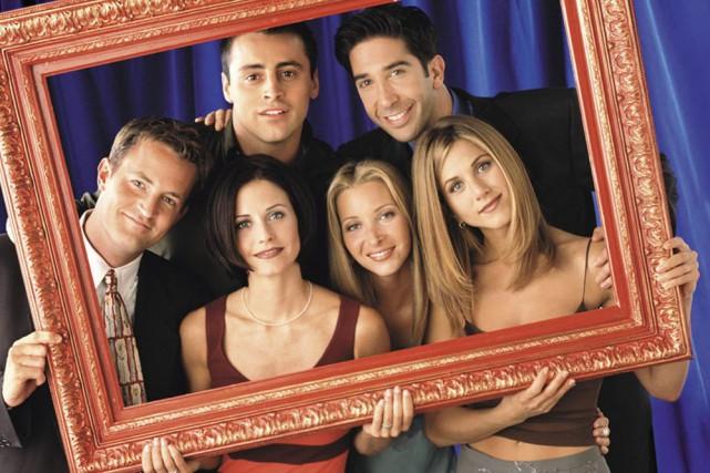 La distribution de Friends. En haut, de gauche... (Photo: archives NBC)