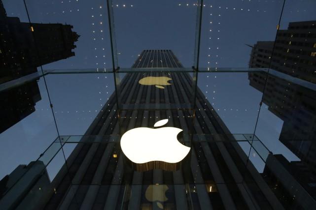 Les invitations, envoyées par Apple, montrent simplement la... (Photo archives AP)