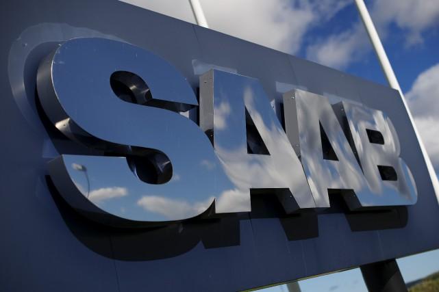 Le repreneur à capitaux chinois de la marque automobile suédoise Saab, la... (Photo archives AFP)