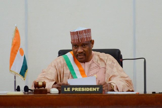 Hama Amadou... (PHOTO ISSOUF SANOGO, ARCHIVES AGENCE FRANCE-PRESSE)
