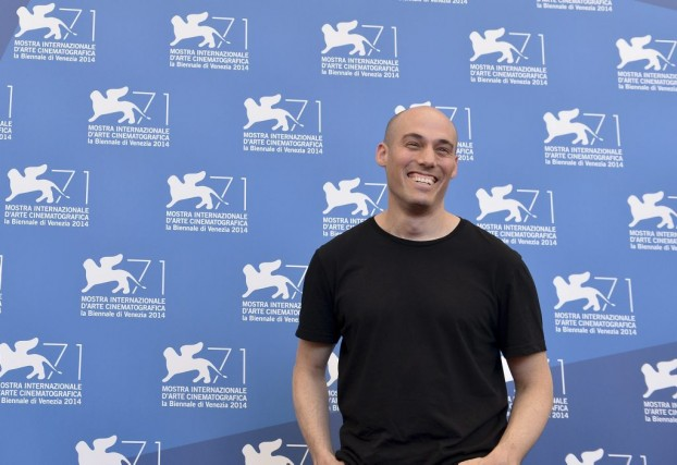 Joshua Oppenheimer lors de la Mostra 2014 (AFP).