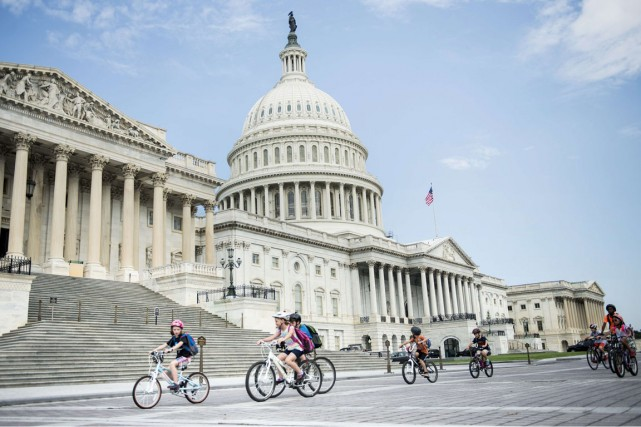 Washington est une ville fascinante, accessible en vol... (Photo Bendah Smialowski, AFP)
