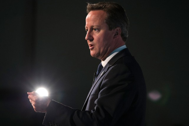 Le premier ministre David Cameron... (Photo archives Reuters)