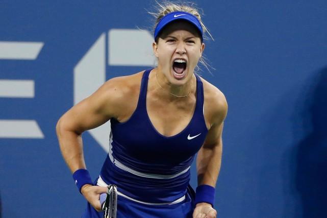 Eugenie Bouchard a dû batailler ferme pour venir... (Photo Shannon Stapleton, Reuters)