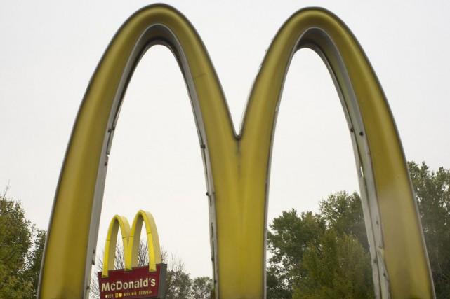 Les ventes des restaurants comparables du géant McDonald's (MCD)... (Photo AP)