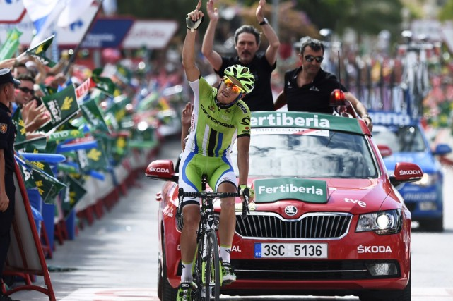 L'Italien Alessandro De Marchi a remporté en solitaire... (Photo Jose Jordan, AFP)