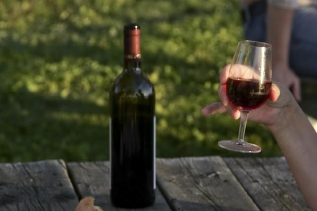 Le long week-end de la fête du Travail ramène les viticulteurs à Magog pour la... (Photo fournie par la Fête des vendanges Magog-Orford)