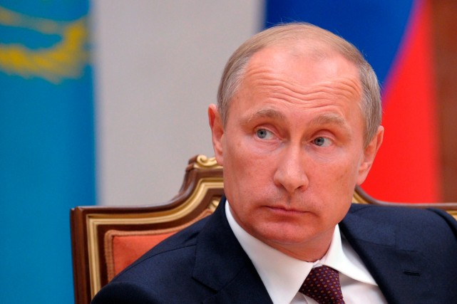 Le président russe Vladimir Poutine a indiqué avoir... (PHOTO ALEXEI DRUZHININ, KREMLIN, AGENCE FRANCE-PRESSE)