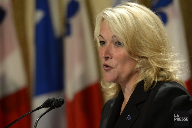 La ministre dit que sa «principale préoccupation est... (Photo Bernard Brault, La Presse)
