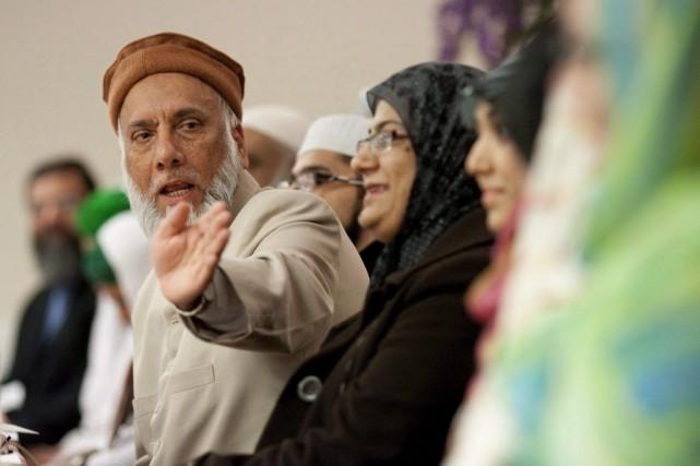 L'imamSoharwardy, qui représente les groupes Musulmans contre le... (Photo PC)