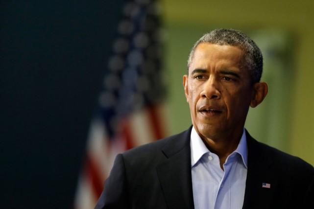 Le président des États-Unis, Barack Obama.... (Photo Steven Senne, archives Associated Press)