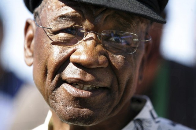 Le premier ministre du Lesotho, Thomas Thabane.... (PHOTO ALEXANDER JOE, ARCHIVES AFP)