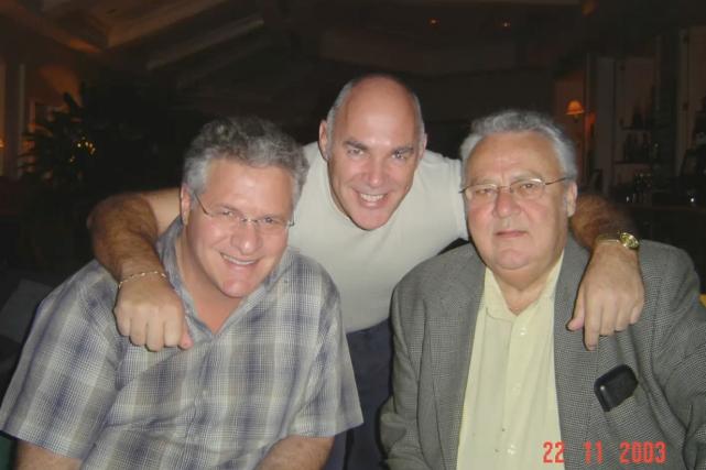 Tony Accurso, Jocelyn Dupuis et Jean Lavallée en... (Photo présentée à la commission Charbonneau)