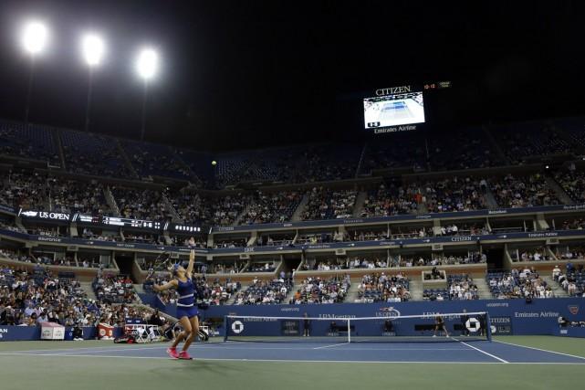 Eugenie Bouchard aura le rare honneur de jouer... (Photo Shannon Stapleton, Reuters)
