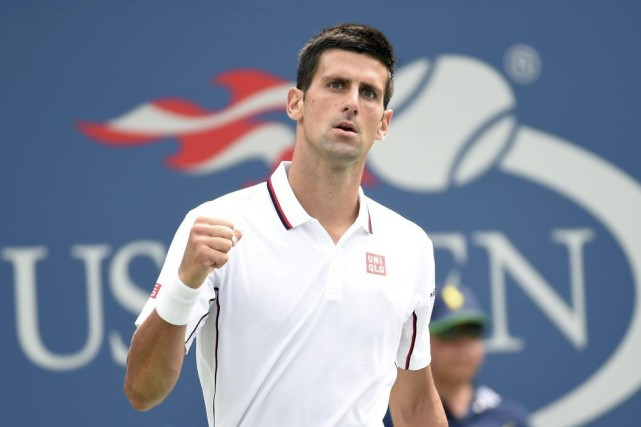 Novak Djokovic accède à la ronde des 16 pour... (PHOTO ROBERT DEUTSCH, USA TODAY)